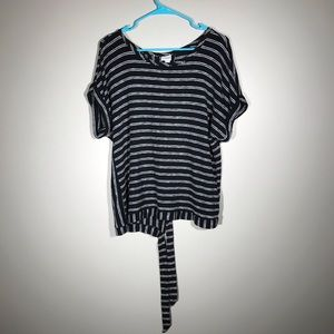 🎉 3 for $20 A new day striped shirt